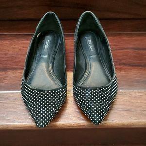 White House Black Market black flat shoes